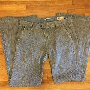 Gap striped pants - nautical inspired?